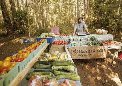 Dion, Heart & Soil OrganicsGabriola, BC